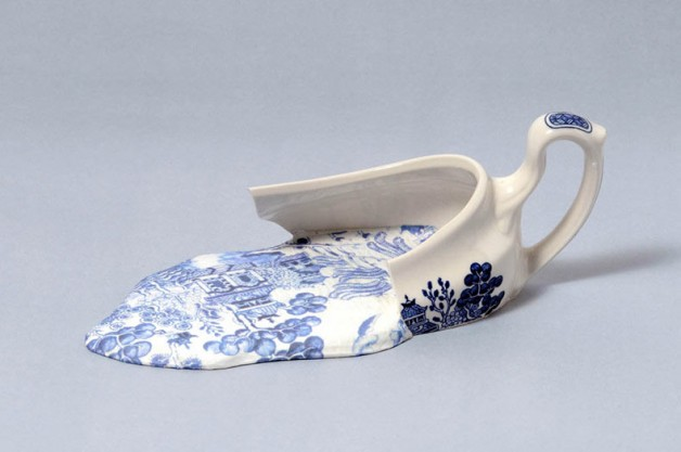 Esculturas de porcelana derretidas por Livia Marín (1)