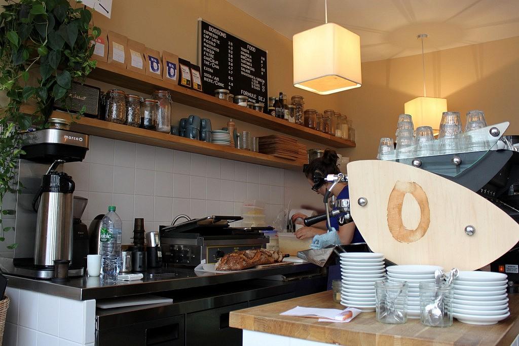 Café Oberkampf - Barra