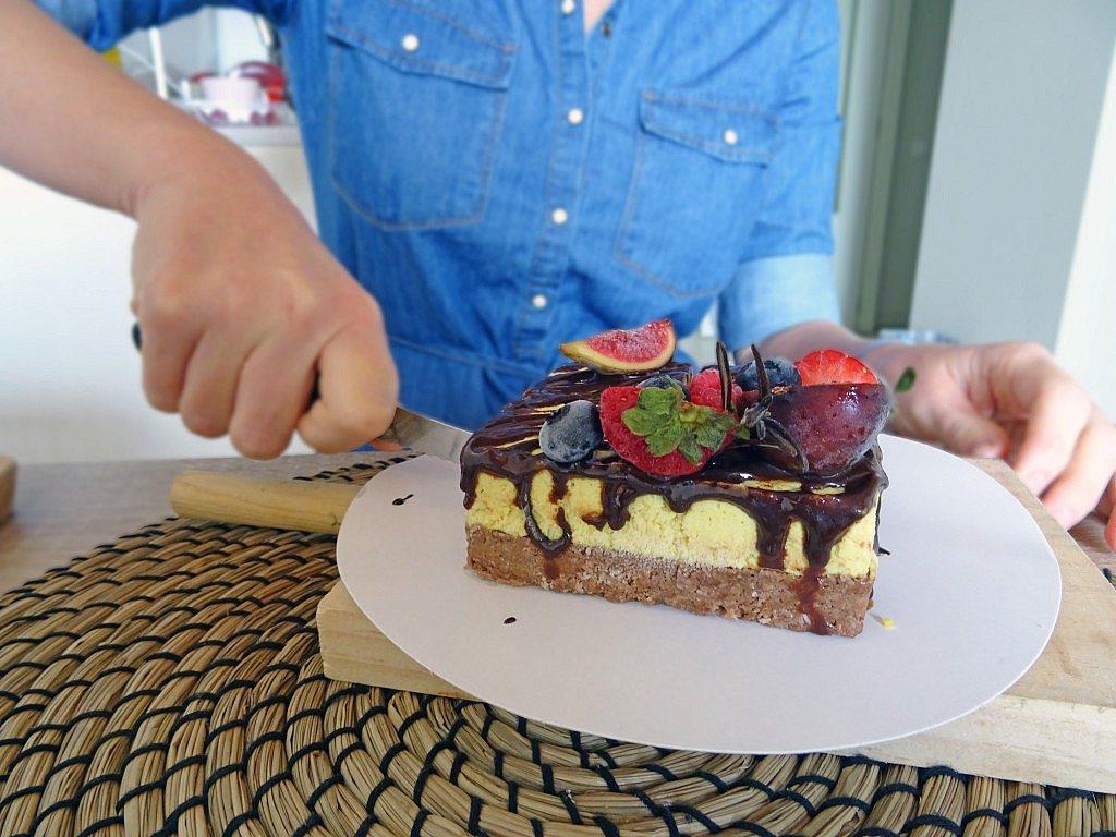corte pastel