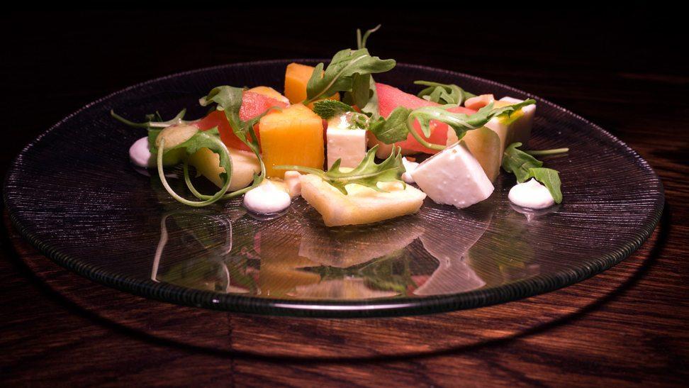 restaurante-saez-ensalada-mango-rucula